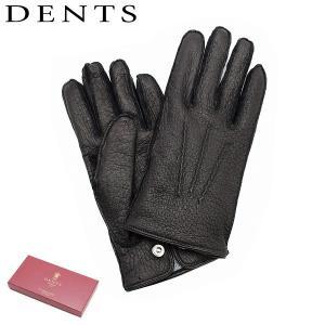 デンツ 手袋 メンズ OXLEY 15-1077 BLACK ブラック DENTS 防寒 海外正規品 timeclub