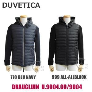 DUVETICA (デュベティカ) 2016-2017 ダウンジャケット DRAUGLUIN 162-U.9004.00/9004 770 999 メンズ ニット ※返品・交換不可|timeclub