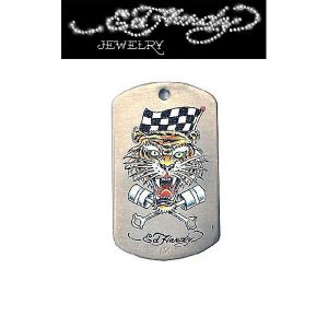 "Ed Hardy(エドハーディー)""RACING TIGER COLOR"" ドッグタグ EHDT49SS