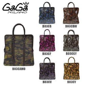GaGa MILANO (ガガミラノ) トートバッグ ハンドバッグ B03CB B03CBW B03CF B03CGY B03CV B03CY メンズ レディース BIG BAG|timeclub