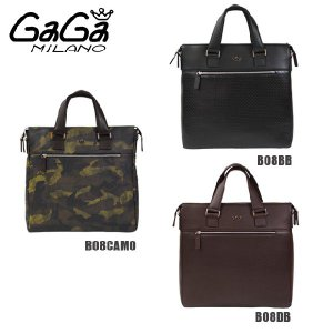 GaGa MILANO (ガガミラノ) デイリーバッグ ショルダーバッグ ハンドバッグ B08CAMO B08BB B08DB メンズ レディース DAYLY BAG|timeclub