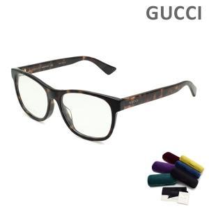グッチ メガネ 眼鏡 フレーム のみ GG0004OA-005 ハバナ アジアンフィット メンズ GUCCI|timeclub