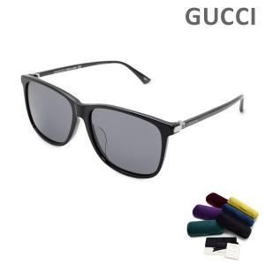 グッチ サングラス GG0017SA-001 アジアンフィット メンズ UVカット GUCCI|timeclub