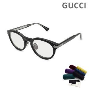 グッチ メガネ  眼鏡 フレーム のみ GG0071O-001 ブラック メンズ GUCCI|timeclub