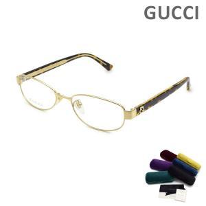 グッチ メガネ  眼鏡 フレーム のみ GG0129OJ-002 ゴールド/ハバナ GUCCI|timeclub