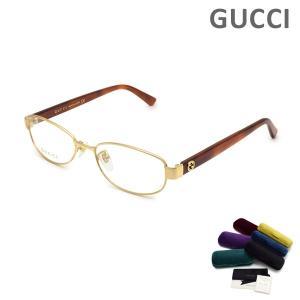 グッチ メガネ  眼鏡 フレーム のみ GG0129OJ-003 ゴールド/ハバナ GUCCI|timeclub