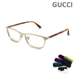 グッチ メガネ  眼鏡 フレーム のみ GG0133OJ-004 ゴールド/ハバナ メンズ レディース ユニセックス GUCCI|timeclub