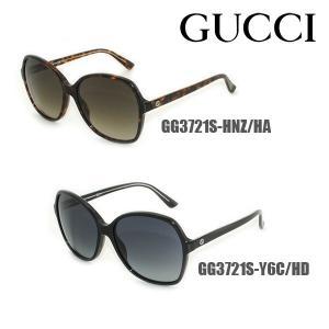 GUCCI (グッチ) サングラス GG3721S HNZ/HA Y6C/HD レディース グローバルモデル 正規品|timeclub