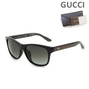 GUCCI (グッチ) サングラス GG3735FS IMX/PT ブラック レディース アジアンフィット 正規品|timeclub