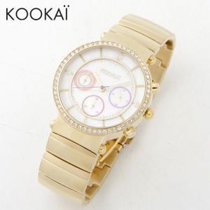 KOOKAi (クーカイ) 腕時計 1624 004 イエローゴールド レディース ウォッチ 時計|timeclub