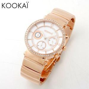 KOOKAi (クーカイ) 腕時計 1624 007 ピンクゴールド レディース ウォッチ 時計|timeclub