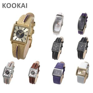 選べる11種類! KOOKAi (クーカイ) 腕時計 1610 1616 1689 1691 レディース ウォッチ 時計|timeclub