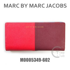 MARC BY MARC JACOBS (マークバイマークジェイコブス) 財布 長財布 M0005349 602 レザー レディース|timeclub