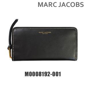 MARC JACOBS (マークジェイコブス) 財布 長財布 M0008192-001 ブラック ラウンドファスナー レザー レディース|timeclub