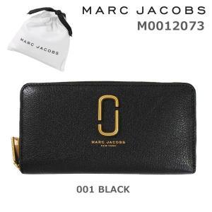 MARC JACOBS (マークジェイコブス) 財布 長財布 M0012073-001 BLACK ラウンドファスナー レザー レディース|timeclub