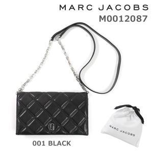 MARC JACOBS (マークジェイコブス) 長財布 M0012087 001 BLACK 斜めがけ ショルダー|timeclub