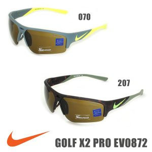 国内正規品 NIKE(ナイキ) サングラス GOLF ゴルフ X2 PRO EV0872 070 207 メンズ レディース スポーツ アジアンフィット|timeclub