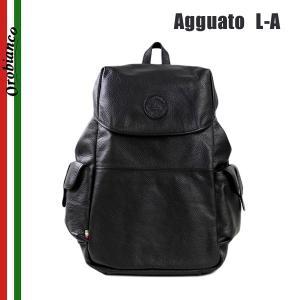 OROBIANCO オロビアンコ Agguato L-A NERO リュック バックパック バッグ リュックサック メンズ レザー|timeclub