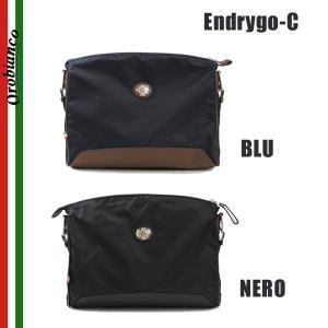 OROBIANCO オロビアンコ Endrygo-C BLU NERO クラッチバッグ ショルダーバッグ メンズ|timeclub