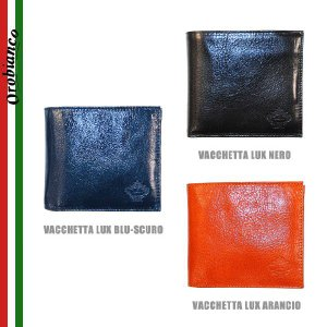 OROBIANCO オロビアンコ FIRIPPO-I 財布 二つ折り財布 メンズ VACCHETTA LUX BLU-SCURO NERO ARANCIO timeclub