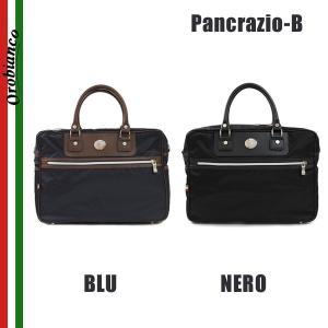OROBIANCO オロビアンコ Pancrazio-B BLU NERO ブリーフケース ビジネスバッグ ショルダーバッグ メンズ|timeclub