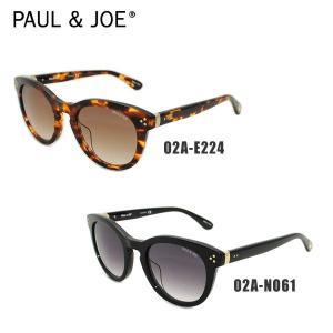 PAUL&JOE ポール&ジョー サングラス PELICANO-02A E224 トートイズ/ブラウングラデーション NO61 ブラック/グレーグラデーション 国内正規品 アジアン timeclub