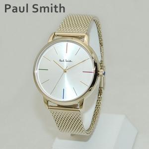 ポールスミス 時計 メンズ レディース P10103 MA Paul Smith 腕時計 ウォッチ ブレス ゴールド|timeclub