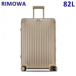 RIMOWA リモワ TOPAS TITANIUM MW トパーズ チタニウム 82L 923.70.03.4 シャンパンゴールド TSAロック スーツケース キャリーバッグ|timeclub