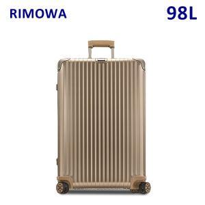 RIMOWA リモワ TOPAS TITANIUM MULTIWHEEL トパーズ チタニウム マルチホイール 98L 923.77.03.4 TSAロック スーツケース キャリーバッグ|timeclub