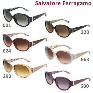 国内正規品 Salvatore Ferragamo サルヴァトーレ フェラガモ SF683SA 001 220 624 663 290 500 サングラス アジアンフィット レディース UVカット|timeclub