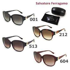 国内正規品 Salvatore Ferragamo サルヴァトーレ フェラガモ SF741SRA 001 212 513 604 サングラス レディース アジアンフィット|timeclub