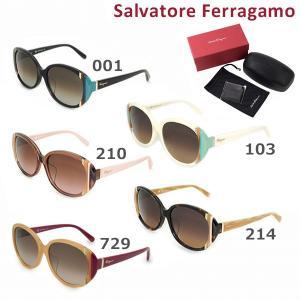 Salvatore Ferragamo サルヴァトーレ フェラガモ SF842SA 001 103 210 214 729 サングラス アジアンフィット レディース UVカット|timeclub
