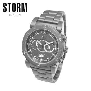 STORM LONDON(ストームロンドン) 時計 腕時計 MAXITRON 47180SL ブラック メンズ 国内正規品|timeclub
