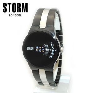 STORM LONDON(ストームロンドン) 時計 腕時計 47210SL NEW REMI SLATE ブラック メンズ 国内正規品|timeclub