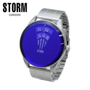 STORM LONDON(ストームロンドン) 時計 腕時計 ELEVATOR 47364B シルバー/ブルー メンズ 国内正規品|timeclub