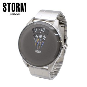 STORM LONDON(ストームロンドン) 時計 腕時計 ELEVATOR 47364GY シルバー/グレー メンズ 国内正規品|timeclub