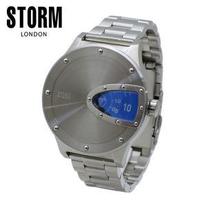STORM LONDON(ストームロンドン) 時計 腕時計 MAGNITOR 47390B シルバー/ブルー メンズ 国内正規品|timeclub