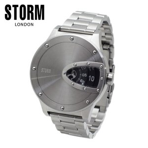STORM LONDON(ストームロンドン) 時計 腕時計 MAGNITOR 47390BK シルバー/ブラック メンズ 国内正規品|timeclub