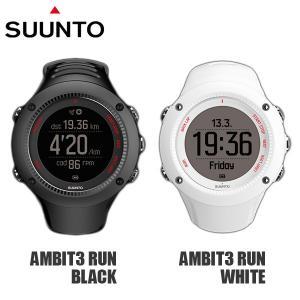 SUUNTO スント 腕時計 時計 SUUNTO AMBIT3 RUN アンビット ラン BLACK WHITE|timeclub