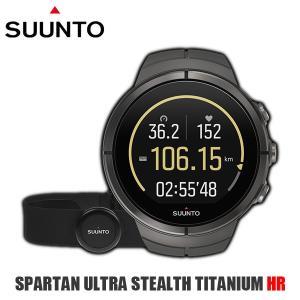SUUNTO スント 腕時計 時計 SUUNTO SPARTAN ULTRA STEALTH TITANIUM HR (スパルタン ウルトラ) 心拍測定ベルト付き チタン|timeclub