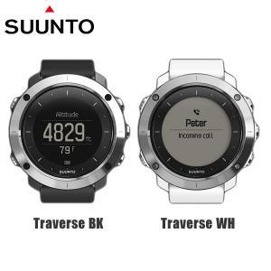 SUUNTO スント 腕時計 時計 SUUNTO TRAVERSE スント トラバース BLACK WHITE|timeclub