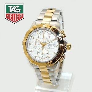 TAG HEUER (タグホイヤー) 時計 腕時計 アクアレーサー キャリバー16 自動巻き CAP2120.BB0834 CAP2120 BB0834 42mm ホワイト/シルバー/ゴールド timeclub
