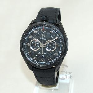 タグホイヤー TAG HEUER 時計 腕時計 CAR2C90.FC6341 CARRERA カレラ 45mm レザー ブラック メンズ timeclub