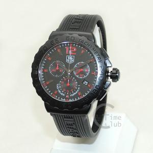 タグホイヤー TAG HEUER 時計 腕時計 CAU111A.FT6024 フォーミュラ1 42mm ブラック/レッド ラバー メンズ timeclub