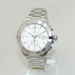 タグホイヤー TAG HEUER 時計 腕時計 CAY2111.BA0925 アクアレーサー 43mm ブレス シルバー メンズ timeclub