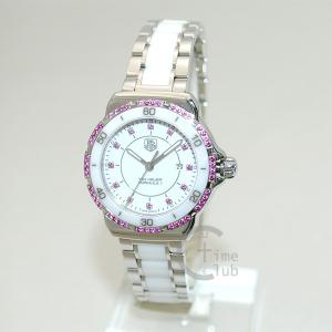タグホイヤー TAG HEUER 時計 腕時計 WAH1319.BA0868 フォーミュラ1 クォーツ 31mm ブレス シルバー/ホワイト/ピンク レディース timeclub