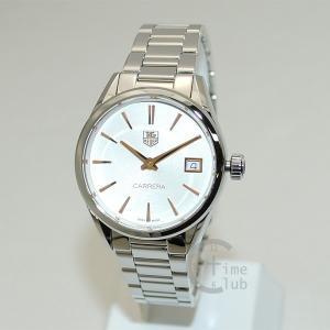 タグホイヤー TAG HEUER 時計 腕時計 WAR1312.BA0773 CARRERA カレラ クォーツ 32mm ブレス シルバー レディース timeclub