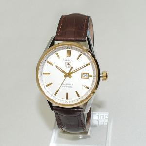 タグホイヤー TAG HEUER 時計 腕時計 WAR215B.FC6181 CARRERA カレラ 38mm レザー ブラウン/ゴールド/シルバー メンズ timeclub