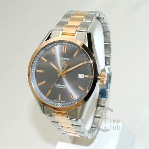 タグホイヤー TAG HEUER 時計 腕時計 WV215F.BD0735 CARRERA カレラ 自動巻き 39mm ブラウン/シルバー/ピンクゴールド メンズ timeclub