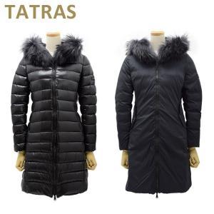 タトラス ダウン レディース リバーシブル LTA20A4706 BLACK ブラック ISERA TATRAS ダウンジャケット ダウンコート|timeclub